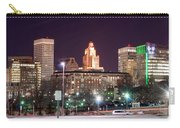 Providence Rhode Island Skyline At Night Carry-all Pouch