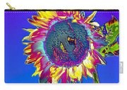 Psychedelic Sunflower Carry-all Pouch
