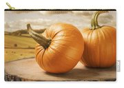 Pumpkins Carry-all Pouch by Amanda Elwell