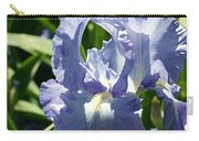 Purple Bearded Iris Carry-all Pouch