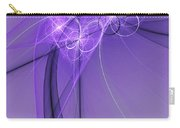 Purple Illusion Carry-all Pouch