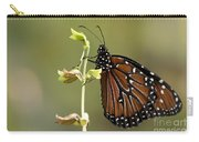 Queen Butterfly Carry-all Pouch