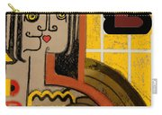 Queen Of Hearts Of Egypt Carry-all Pouch
