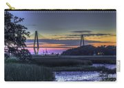 Charleston Bridge Low Tide Carry-all Pouch