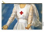 Red Cross Poster, 1918 Carry-all Pouch