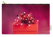 Red Gift Box Carry-all Pouch