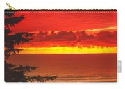Red Pacific Carry-all Pouch