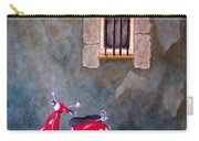 Red Vespa Carry-all Pouch