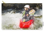 Red Whitewater Kayak Carry-all Pouch