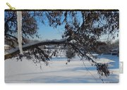 Redbud Tree In Winter Carry-all Pouch