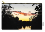 River Sunset Carry-all Pouch