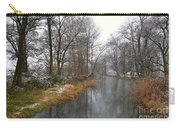 River With Snow Carry-all Pouch