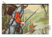 Robinson Crusoe Carry-all Pouch