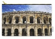Roman Arena In Nimes France Carry-all Pouch