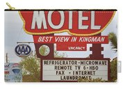 Route 66 - Hill Top Motel Carry-all Pouch