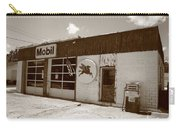 Route 66 - Rusty Mobil Station Carry-all Pouch