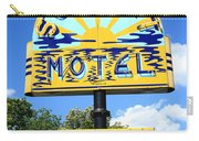 Route 66 - Sunset Motel Carry-all Pouch