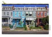 Row Houses In Washington D.c. Carry-all Pouch