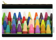 Rows Of Crayons Carry-all Pouch