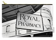 Royal Pharmacy - Bw Carry-all Pouch