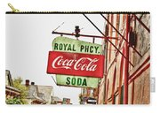 Royal Pharmacy Soda Sign Carry-all Pouch