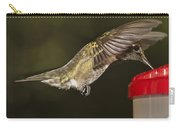 Ruby-throat Hummingbird Carry-all Pouch