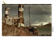 Rusted Whaling Boats Carry-all Pouch by Amanda Stadther