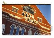 Ryman Auditorium Carry-all Pouch by Brian Jannsen