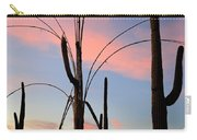 Saguaro Silhouettes Carry-all Pouch
