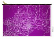 San Salvador Street Map - San Salvador El Salvador Road Map Art  Carry-all Pouch