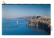 Santorini Caldera Carry-all Pouch