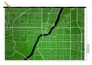 Saskatoon Street Map - Saskatoon Canada Road Map Art On Colored  Carry-all Pouch