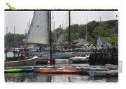 Schooner Camden Harbor - Maine Carry-all Pouch