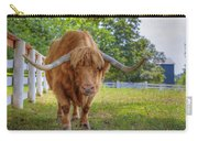 Scottish Highlander Ox Carry-all Pouch