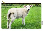Sheep In Field Carry-all Pouch
