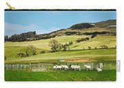 Sheep In Meadow Carry-all Pouch