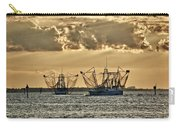 2 Shrimper Going To Sea Carry-all Pouch
