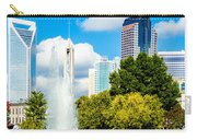 Skyline Of A Modern City - Charlotte North Carolina Usa Carry-all Pouch