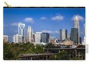 Skyline Of Uptown Charlotte North Carolina. Carry-all Pouch by Alex Grichenko