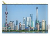 Skylines At The Waterfront, Oriental Carry-all Pouch