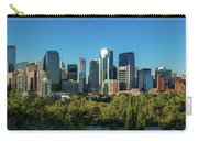 Skylines In A City, Bow River, Calgary Carry-all Pouch
