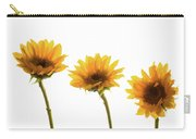 Small Sunflowers Or Helianthus Carry-all Pouch