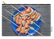 Smoked Salmon And Grilled Artichoke Carry-all Pouch