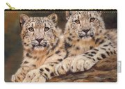 Snow Leopards Carry-all Pouch