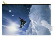 Snowboarding In Lake Tahoe Carry-all Pouch