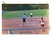 Softball Game Carry-all Pouch