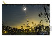 Solar Eclipse Composite, Queensland Carry-all Pouch by Philip Hart