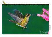 Speckled Hummingbird Carry-all Pouch