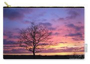 Spectacular Sunset Epsom Downs Surrey Uk Carry-all Pouch