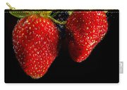 Splash Strawberry Carry-all Pouch